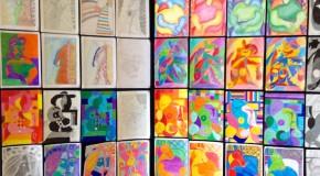 exposição educação visual