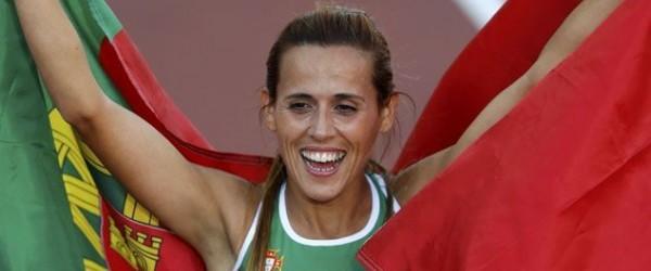 Dulce Félix ficou em 2º lugar na prova na italiana de crosse Cinque Mulini