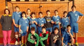 ANDEBOL   A escola EB 2,3 Fernando Távora continua a demonstrar qualidade.