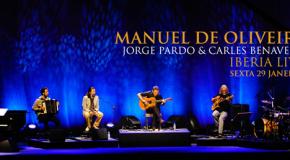 Guitarrista vimaranense Manuel de Oliveira em concerto no S. Mamede