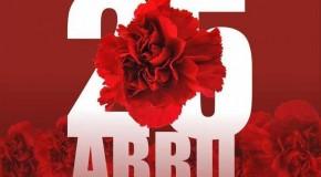 Dia 25 de abril – Dia da liberdade