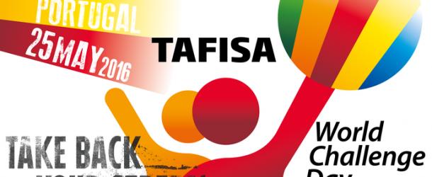 Logótipo humano marca abertura do Dia do Desafio Mundial em Guimarães a 25 de maio