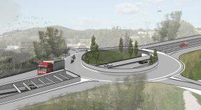 Tribunal de Contas concedeu visto ao contrato para construção de túnel aberto no desnivelamento da rotunda de Silvares