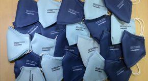 Câmara de Guimarães distribui mais de 20 mil máscaras com o logótipo de cada agrupamento escolar