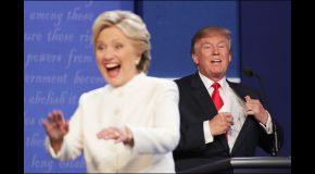 Trump contra Hillary e Hillary contra Trump. O confronto final