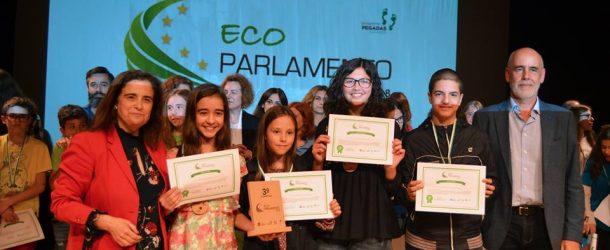 Sessão Final Eco Parlamento – (no pódio)