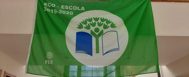 O Nosso Agrupamento de Escolas recebeu a BANDEIRA e o CERTIFICADO de Eco-Escola